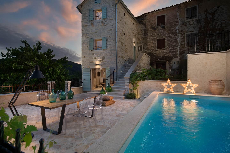 Vily, Buzet, Stredná Istria - Casa Gradinje