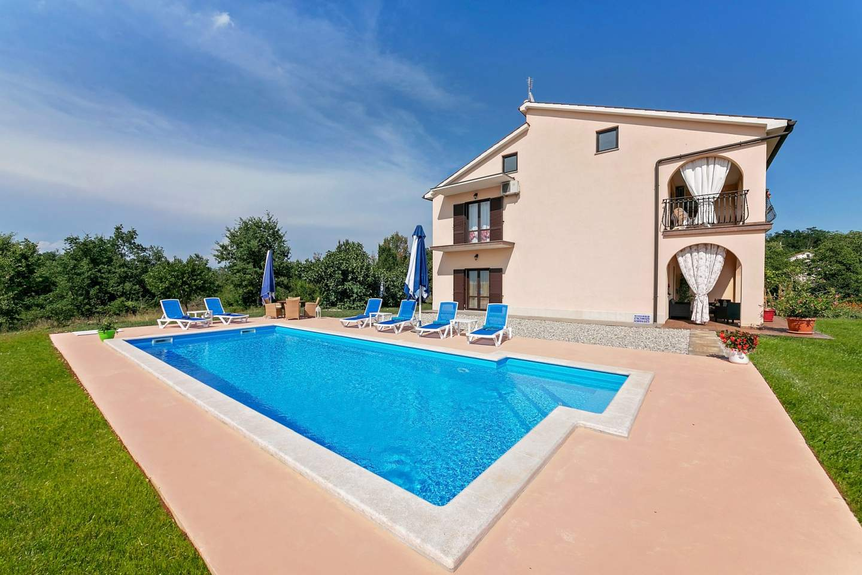 Apartmány, Levaki (Karojba), Stredná Istria - Piantadela