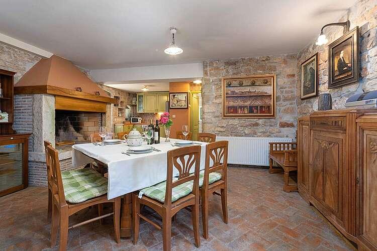 Dining Room — Villa Rosini — Rošini, Poreč (Villa with pool) (2/43)