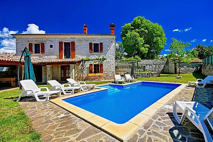 Swimming Pool — Villa David — Jakovici, Tinjan (Holiday home) (1/34)