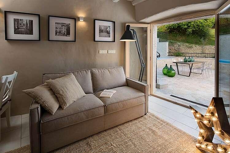 Living Room — Casa Gradinje — Livade, Buzet (Villa with pool) (2/19)