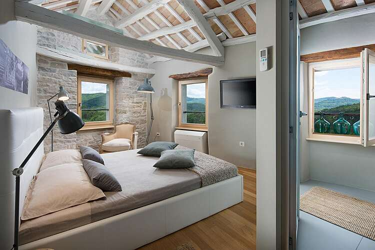 Bedroom — Casa Gradinje — Livade, Buzet (Villa with pool) (3/19)
