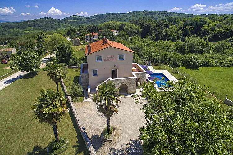 Exterier — Villa Borgonja — Močibobi, Karojba, Central Istria (Villa with pool) (3/40)