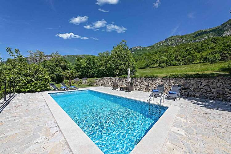Swimming Pool — Villa Rocco — Kožljak, Labin, Rabac-Labin (Villa with pool) (2/42)