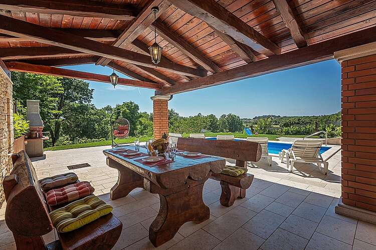 Patio / Balcony — Villa Valentina — Jasenovica, Poreč (Villa with pool) (3/44)