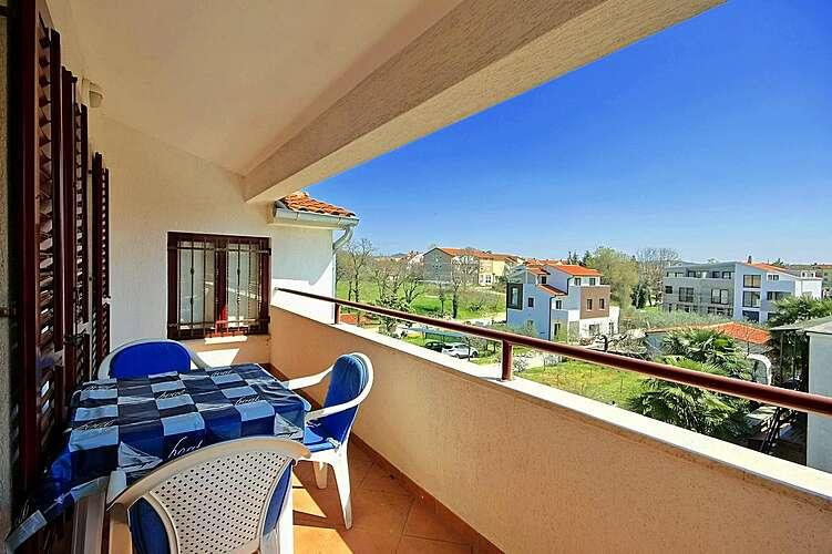 Patio / Balcony — Studio Uli 4 — Funtana, Funtana, Vrsar-Funtana (Apartment) (3/23)