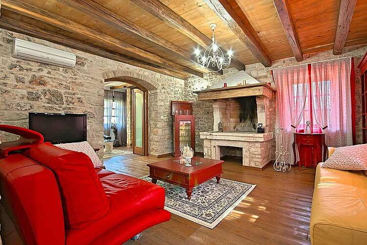 Living Room — Villa San Niccolo — Vilanija, Umag, Umag-Novigrad (Villa with pool) (2/54)