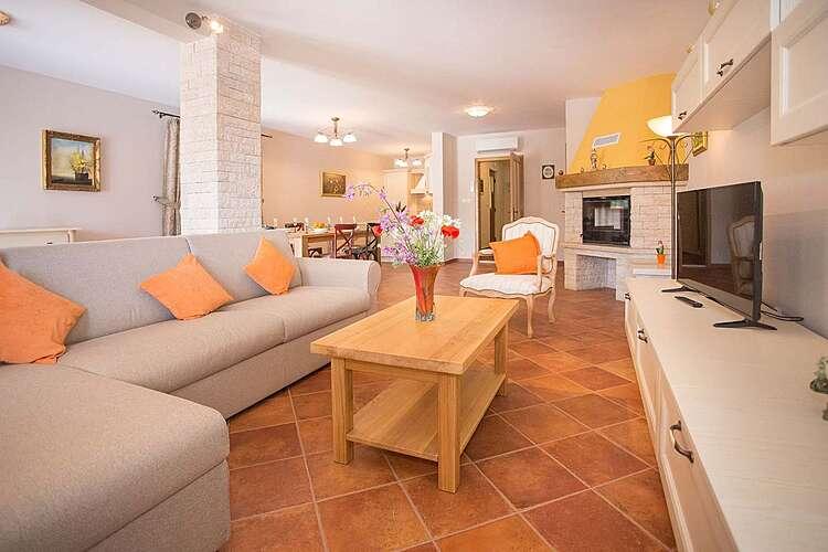 Living Room — Villa Mare Vabriga — Vabriga, Tar-Vabriga (Villa with pool) (2/27)