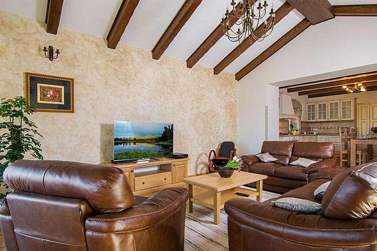Living Room — Villa Anica — Markoci, Labin, Rabac-Labin (Villa with pool) (2/26)