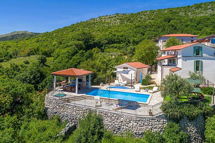 Exterier — Villa Country Lady — Kamenjari, Kršan, Rabac-Labin (Villa with pool) (2/53)