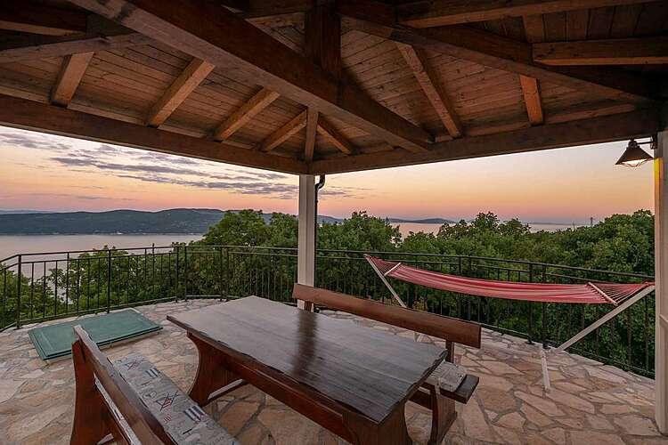 Patio / Balcony — Villa Country Lady — Kamenjari, Kršan, Rabac-Labin (Villa with pool) (3/53)