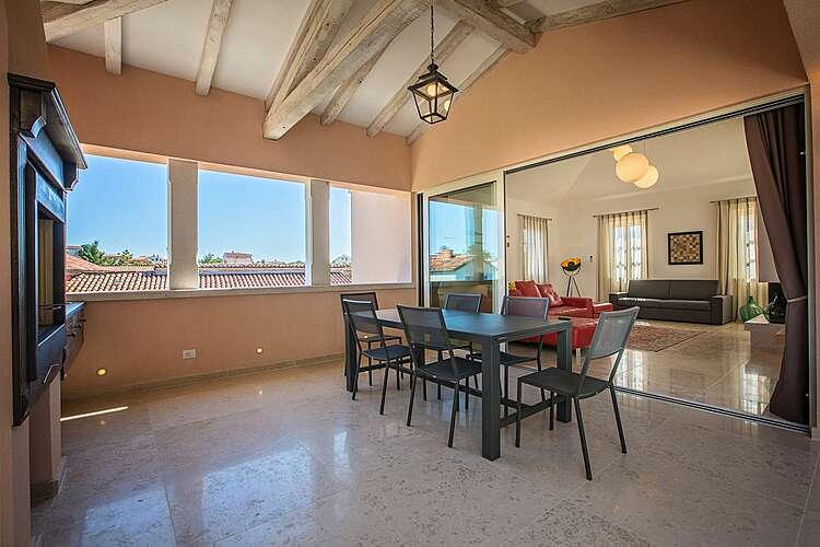 Patio / Balcony — Berli 4 — Funtana, Funtana, Vrsar-Funtana (Apartment) (3/28)