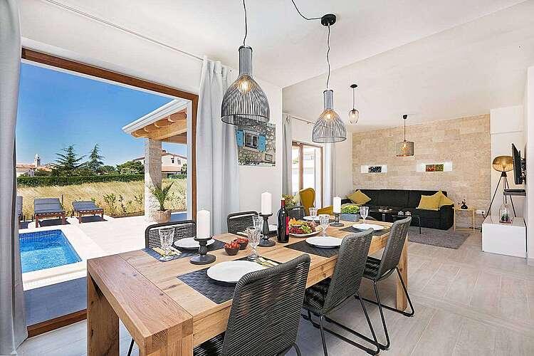 Dining Room — Villa Fortuna — Funtana, Funtana, Vrsar-Funtana (Villa with pool) (2/40)