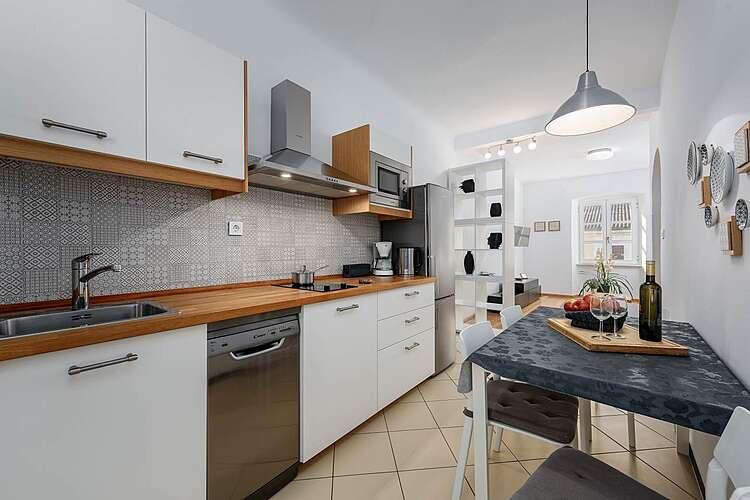Keuken — App Peschiera — Poreč, Poreč (Appartement) (1/16)