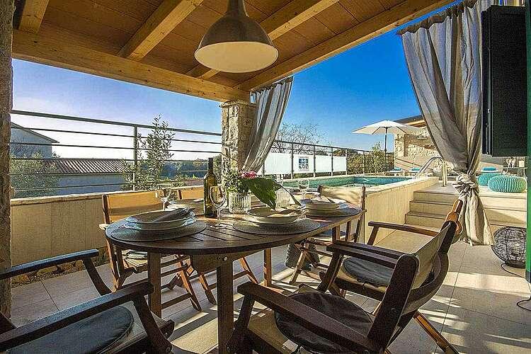 Terasa/balkon — Villa Valencan 2b — Betiga, Vodnjan (Vila sa bazenom) (1/37)