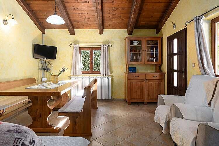 Dining Room — Villa Mainenti — Tićan, Višnjan (Villa with pool) (2/30)