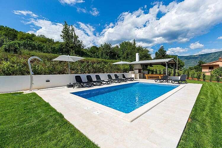 Swimming Pool — Villa Maggiore — Kršan, Kršan, Rabac-Labin (Villa with pool) (1/43)