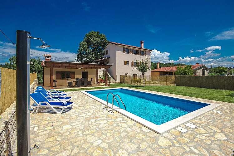 Swimming Pool — Casa Bastiani — Marušići, Buje, Umag-Novigrad (Villa with pool) (1/38)