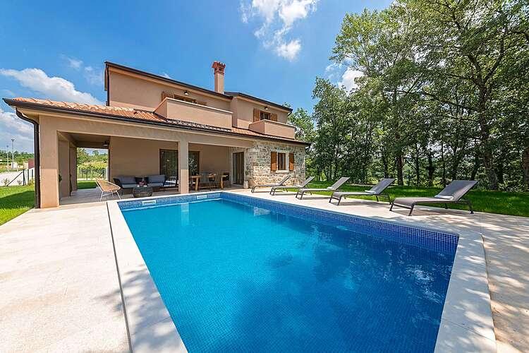 Swimming Pool — Villa Brih III — Pilati, Motovun (Villa with pool) (1/45)