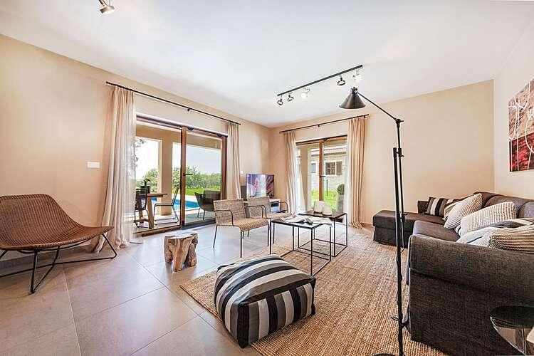Living Room — Villa Brih III — Pilati, Motovun (Villa with pool) (2/45)