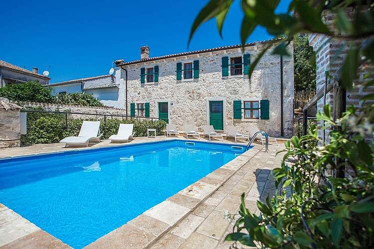 Swimming Pool — Villa Silvana — Flengi, Vrsar, Vrsar-Funtana (Villa with pool) (1/33)