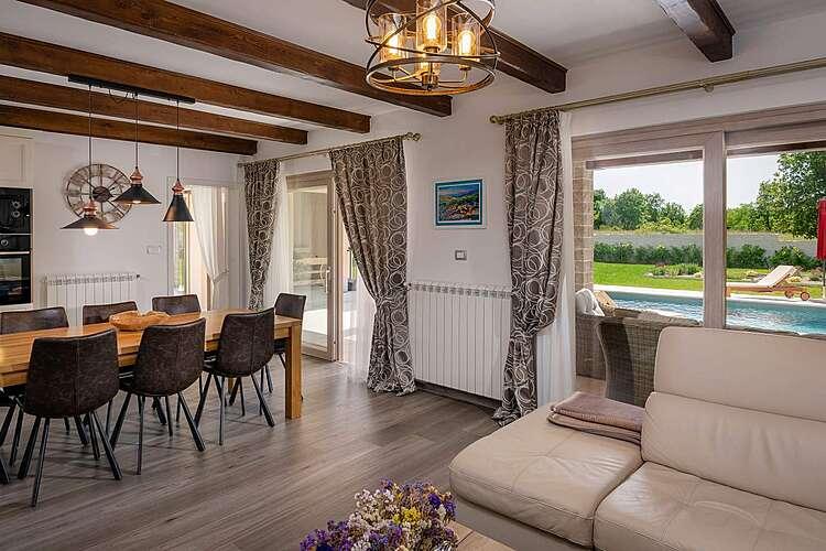 Living Room — Villa Mercedes — Zartinj, Labin, Rabac-Labin (Villa with pool) (2/43)