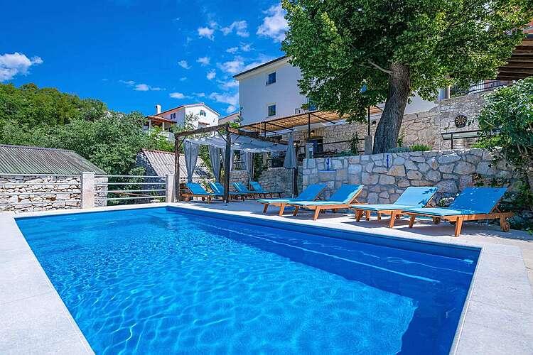 Swimming Pool — Villa Eugenia — Zagore, Brseč (Villa with pool) (1/46)