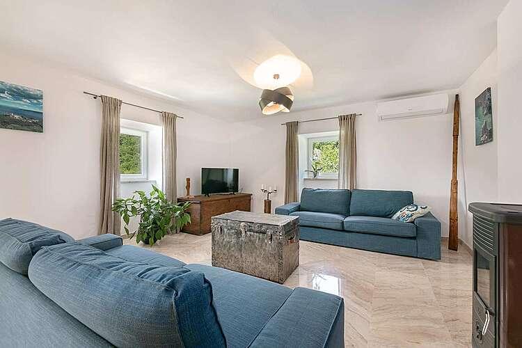Living Room — Villa Eugenia — Zagore, Brseč (Villa with pool) (3/46)