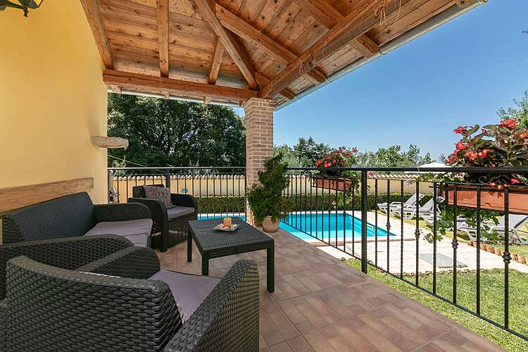 Patio / Balcony — Villa Pelizzar — Bralići, Vrsar, Vrsar-Funtana (Holiday home) (2/45)