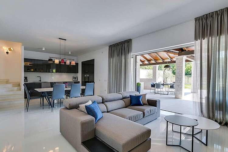 Living Room — Villa GreenBlue — Poreč, Poreč (Villa with pool) (2/53)