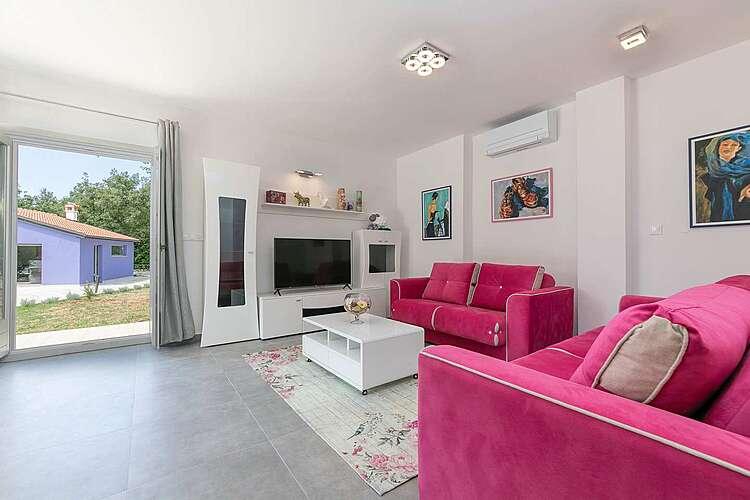 Living Room — Villa Irena Funtana — Funtana, Funtana, Vrsar-Funtana (Villa with pool) (2/40)