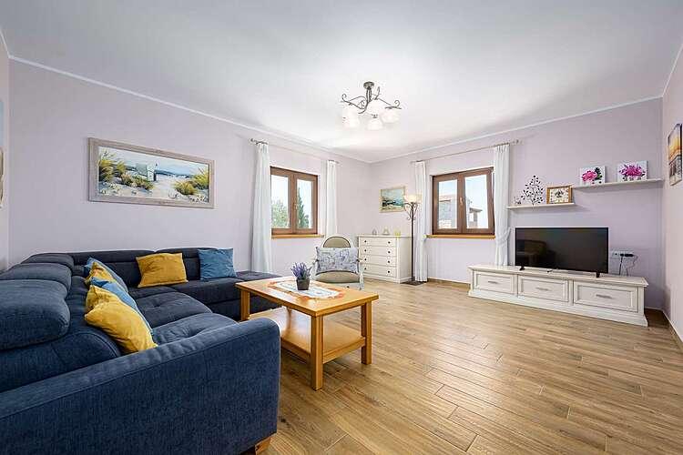Living Room — Villa Elize — Vabriga, Tar-Vabriga (Villa with pool) (3/32)