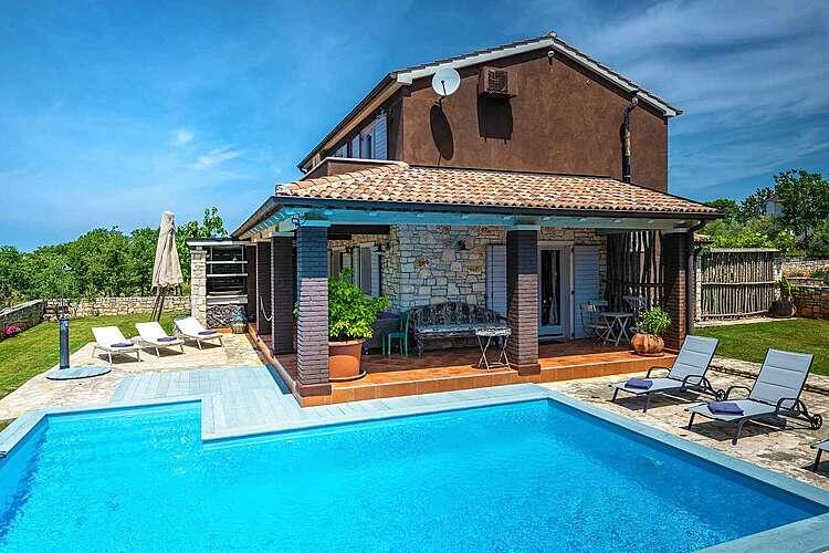 Swimming Pool — Villa Simone Gradina — Flengi, Vrsar, Vrsar-Funtana (Villa with pool) (1/40)