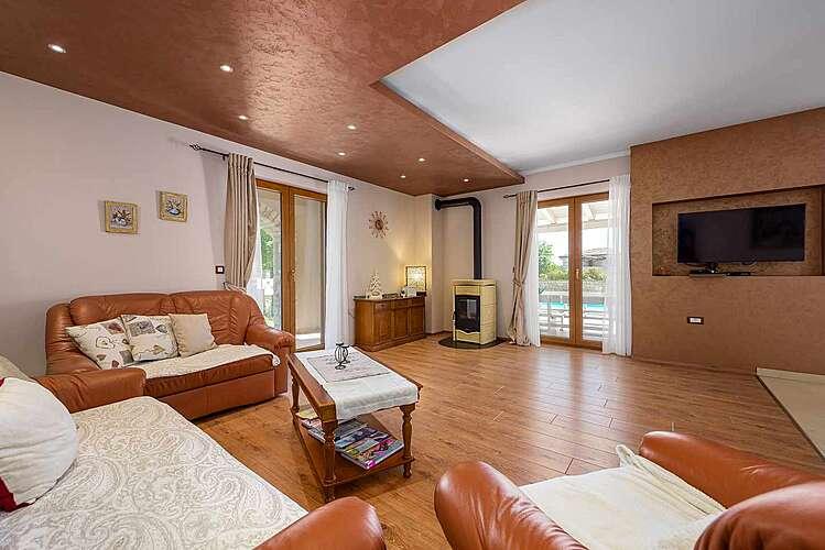 Living Room — Villa Neo — Ribari, Tinjan (Villa with pool) (2/39)