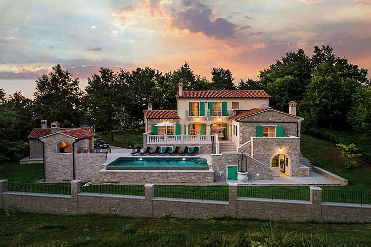 Exterier — Villa Valffiorita — Pazin, Pazin (Villa with pool) (1/45)