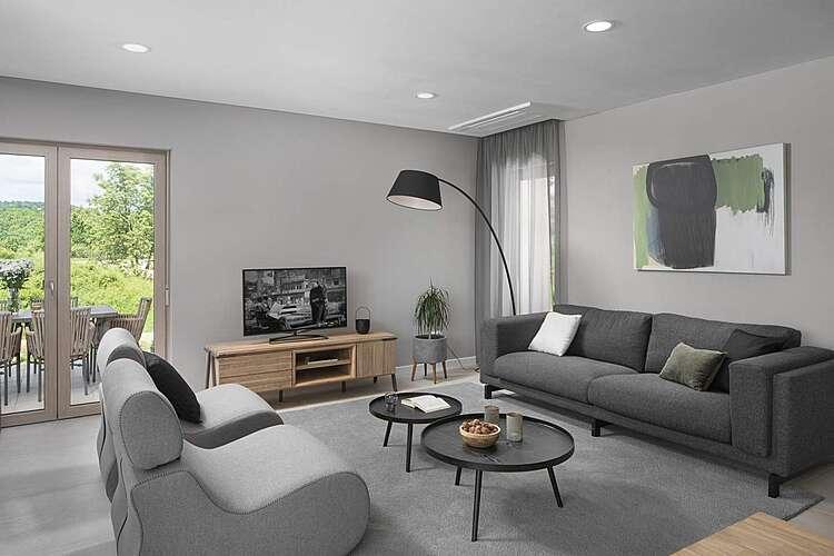 Living Room — Villa D — Paradiž, Labin, Rabac-Labin (Villa with pool) (2/19)