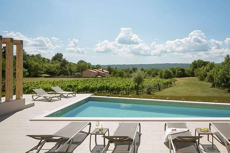 Swimming Pool — Villa D — Paradiž, Labin, Rabac-Labin (Villa with pool) (3/19)