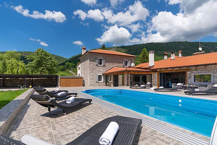 Exterier — Villa Tina — Livade, Buzet (Villa with pool) (1/46)