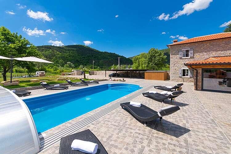 Swimming Pool — Villa Tina — Livade, Buzet (Villa with pool) (2/46)