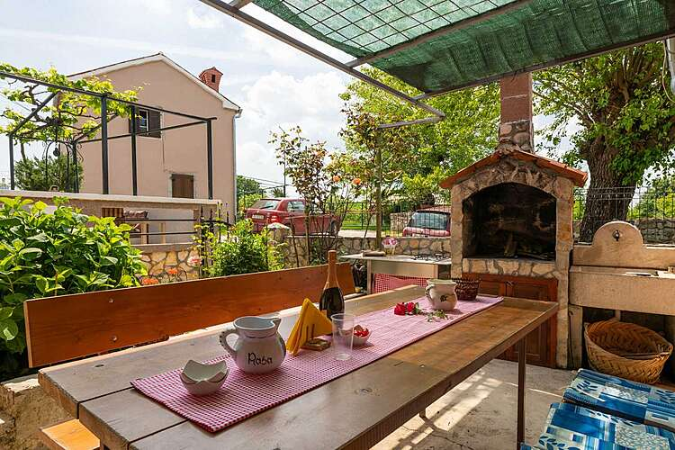 Patio / Balcony — House Papinka — Markoci, Labin, Rabac-Labin (Holiday home) (2/25)