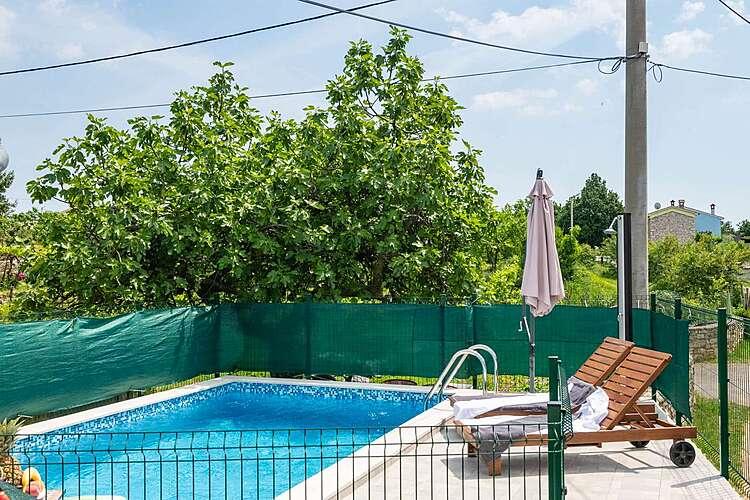 Swimming Pool — House Papinka — Markoci, Labin, Rabac-Labin (Holiday home) (3/25)