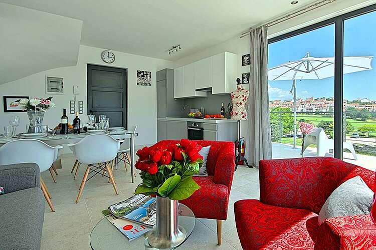 Living Room — App Orsera 1 — Vrsar, Vrsar, Vrsar-Funtana (Apartment) (1/29)