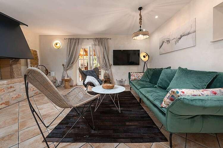 Living Room — San Lorenzo Zakinji — Umag, Umag, Umag-Novigrad (Villa with pool) (2/45)