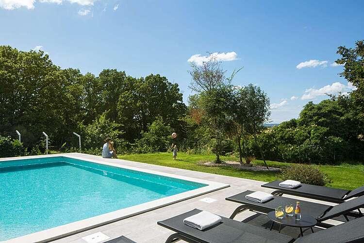 Swimming Pool — Villa Amelia — Presika, Labin, Rabac-Labin (Villa with pool) (2/22)