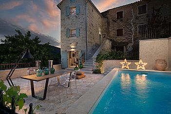 Casa Gradinje — Livade, Buzet (Villa with pool) - Swimming Pool