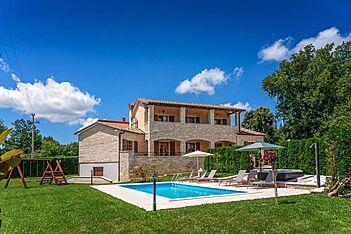 Villa Vernier — Kringa, Tinjan (Villa mit Pool) - Außenseite