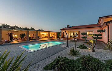 Villa St. Ana — Ribari, Tinjan (Vila sa bazenom) - Eksterijer