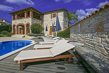 Villa Baderna — Baderna, Poreč (Villa with pool) - Swimming Pool