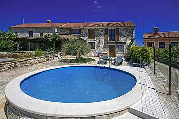 Casa Angelo — Krunčići, Sveti Lovreč (Holiday home) - Swimming Pool
