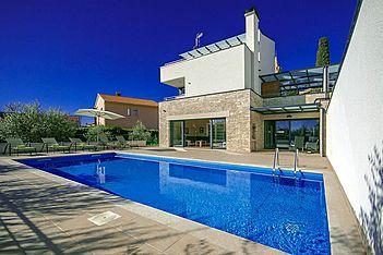 Villa Nina — Valtura, Ližnjan, Pula-Medulin (Vila sa bazenom) - Bazen